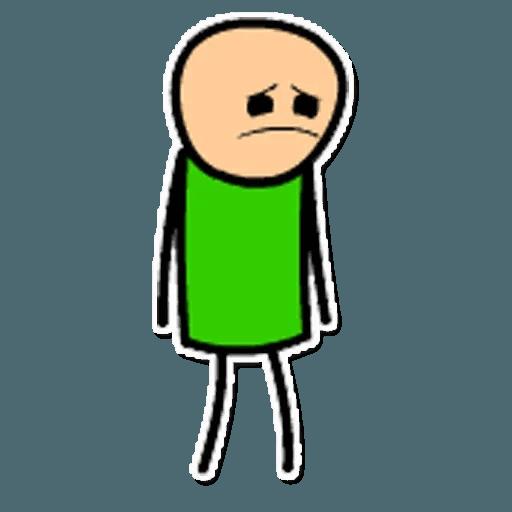 Цианид и счастье - Sticker 14