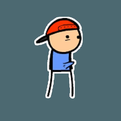 Цианид и счастье - Sticker 4