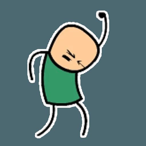 Цианид и счастье - Sticker 2
