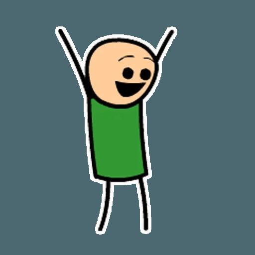 Цианид и счастье - Sticker 24