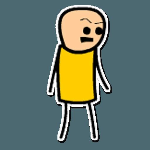 Цианид и счастье - Sticker 18