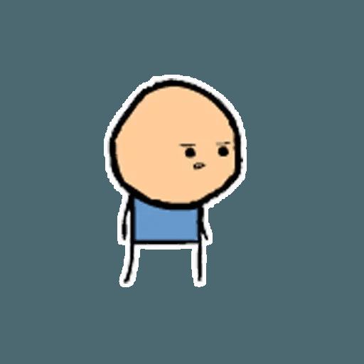Цианид и счастье - Sticker 21