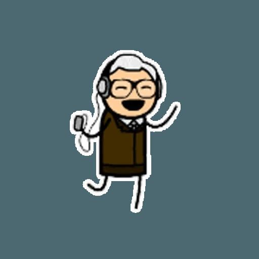Цианид и счастье - Sticker 10