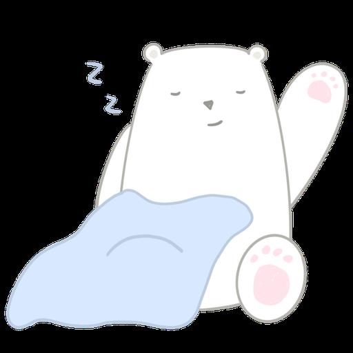 Polar bear Vanilla & Penguin Mochi  - Sticker 10