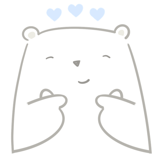 Polar bear Vanilla & Penguin Mochi  - Sticker 4