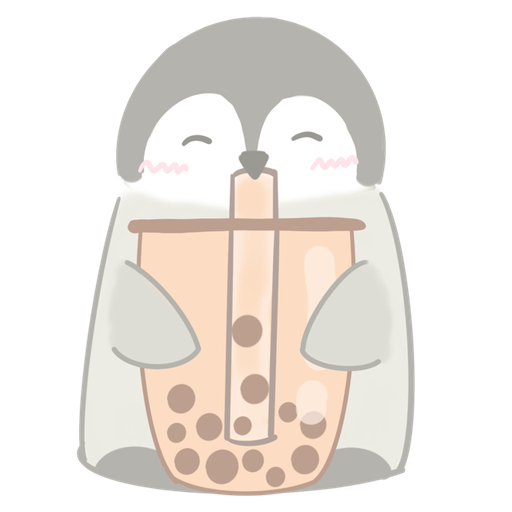 Polar bear Vanilla & Penguin Mochi  - Sticker 7