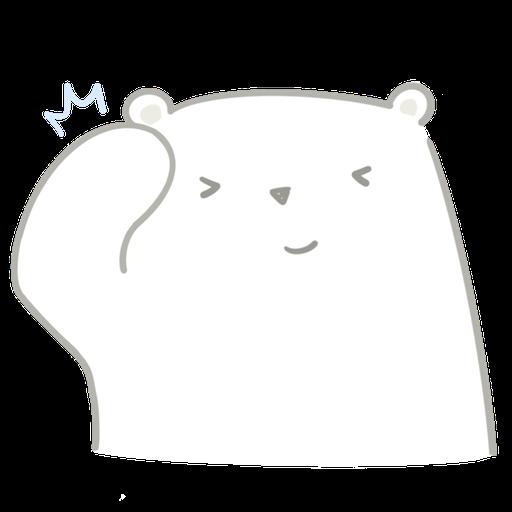 Polar bear Vanilla & Penguin Mochi  - Sticker 6