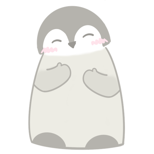 Polar bear Vanilla & Penguin Mochi  - Sticker 5