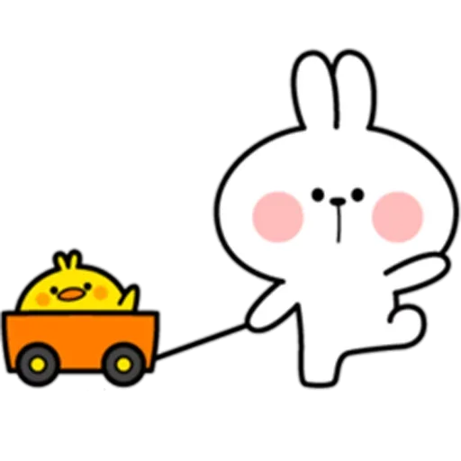 Rabbit - Sticker 1