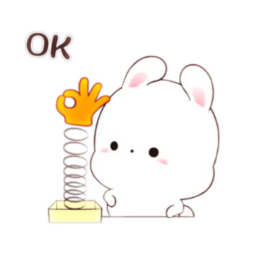 happy rabbit chinese - Sticker 6