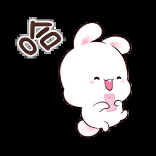happy rabbit chinese - Sticker 1