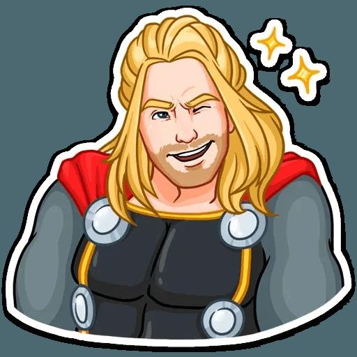 Thor - Tray Sticker
