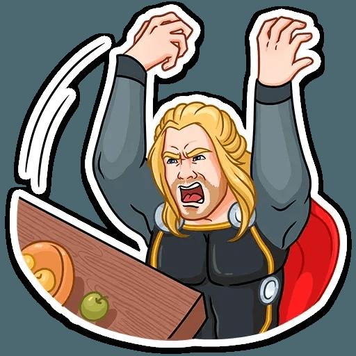 Thor - Sticker 9