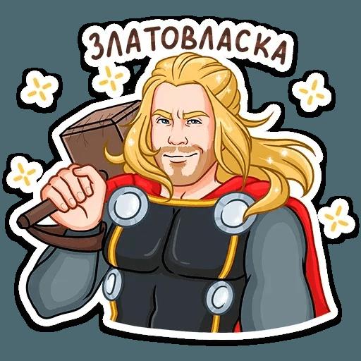Thor - Sticker 23