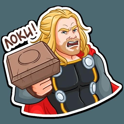 Thor - Sticker 12