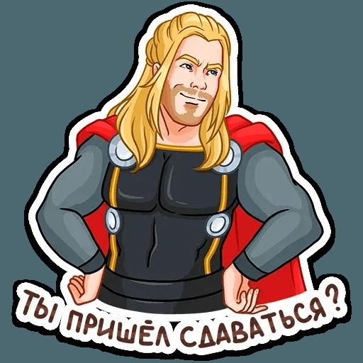 Thor - Sticker 24