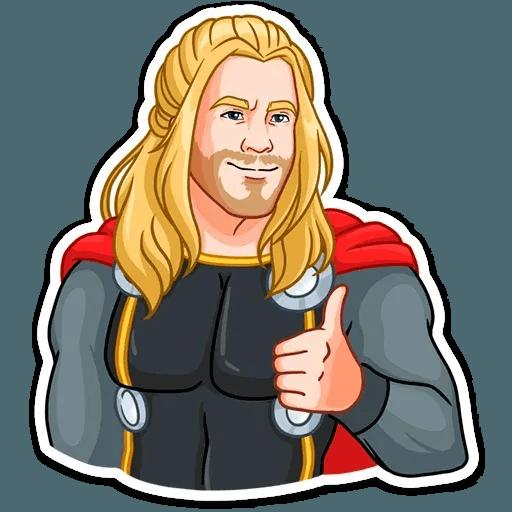 Thor - Sticker 7