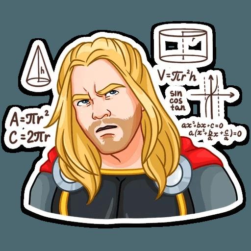 Thor - Sticker 13