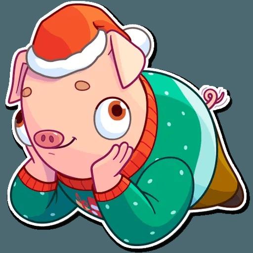 Mr. Piggy - Sticker 12
