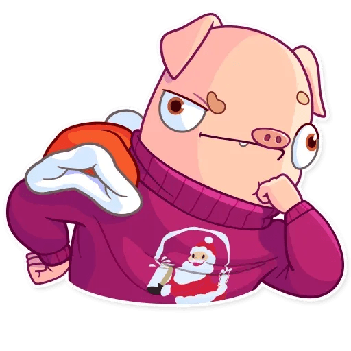 Mr. Piggy - Sticker 16