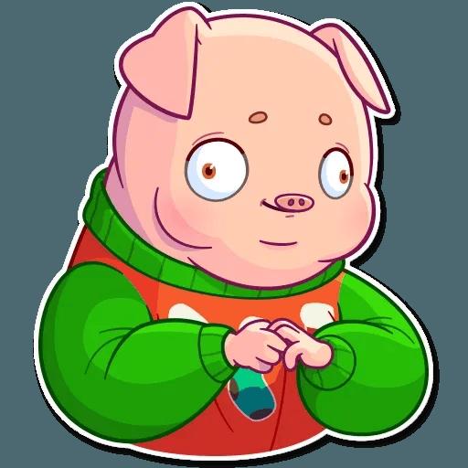 Mr. Piggy - Sticker 19