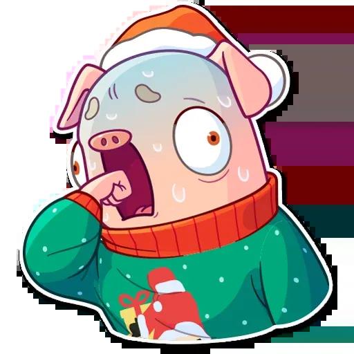 Mr. Piggy - Sticker 7