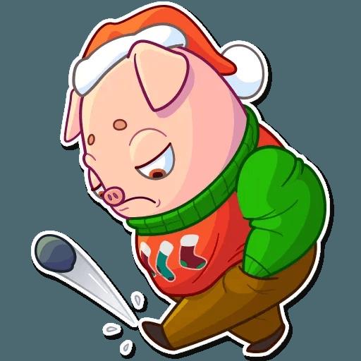 Mr. Piggy - Sticker 18