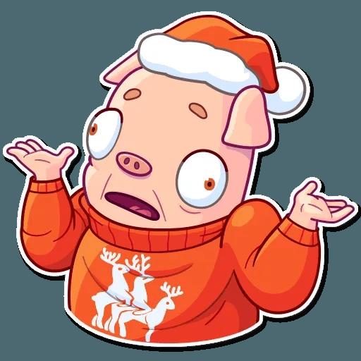 Mr. Piggy - Sticker 3