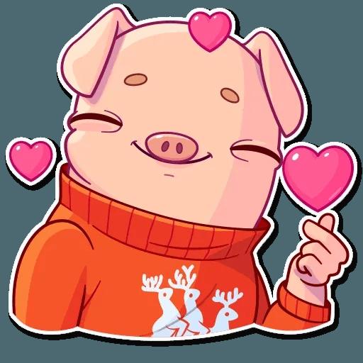 Mr. Piggy - Sticker 6