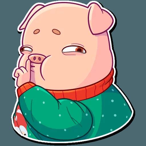 Mr. Piggy - Sticker 22