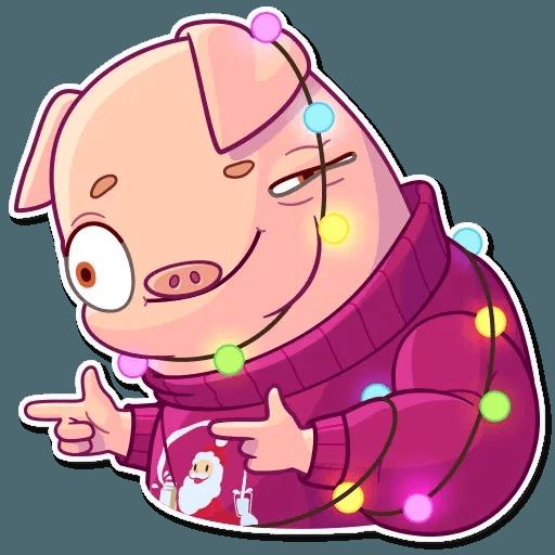 Mr. Piggy - Sticker 4