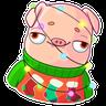 Mr. Piggy - Tray Sticker