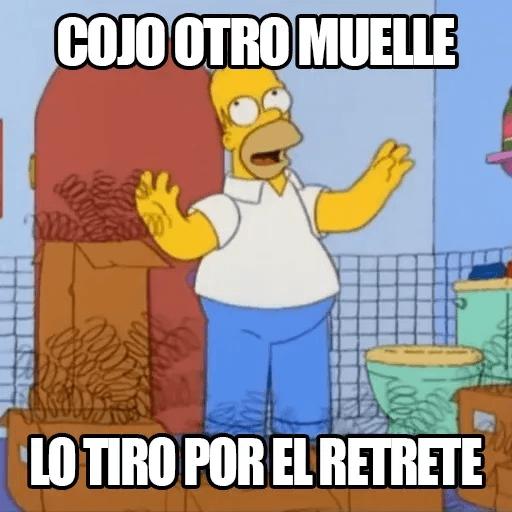 [ES] Simpsons Memes III - Sticker 10