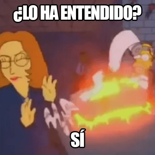 [ES] Simpsons Memes III - Sticker 16