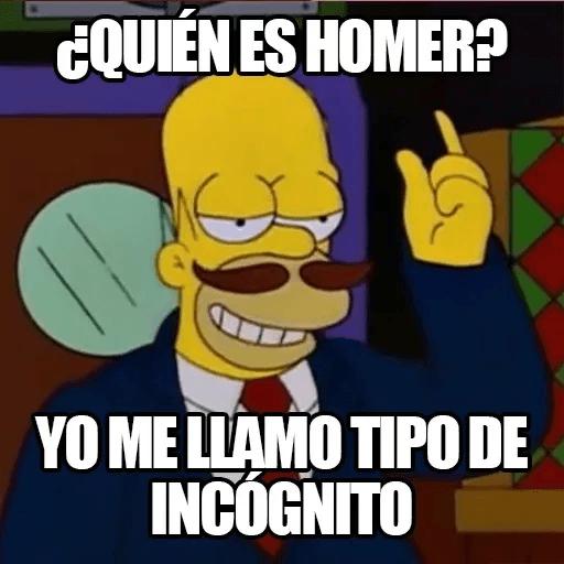 [ES] Simpsons Memes III - Sticker 25