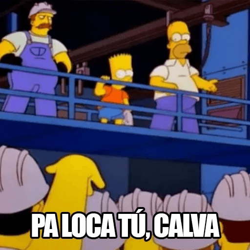 [ES] Simpsons Memes III - Sticker 12