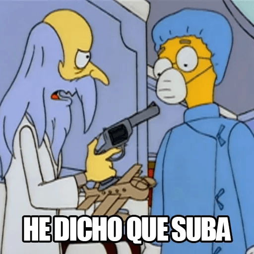 [ES] Simpsons Memes III - Sticker 28