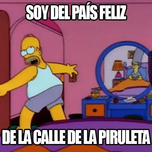 [ES] Simpsons Memes III - Sticker 5