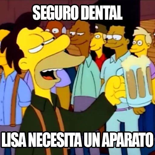 [ES] Simpsons Memes III - Sticker 24