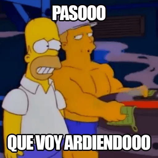 [ES] Simpsons Memes III - Sticker 11