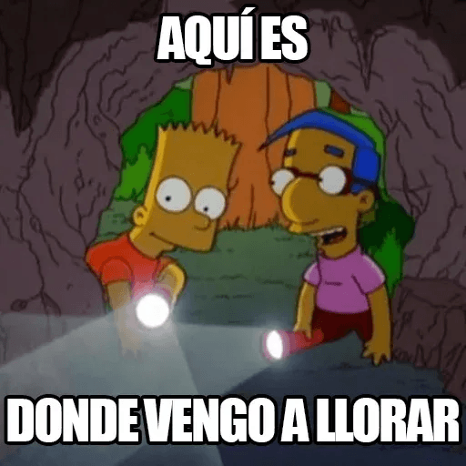 [ES] Simpsons Memes III - Sticker 27