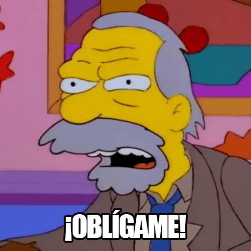 [ES] Simpsons Memes III - Sticker 7