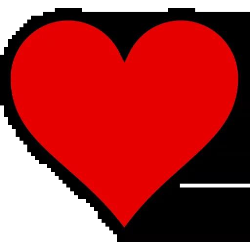 Hearts - Tray Sticker
