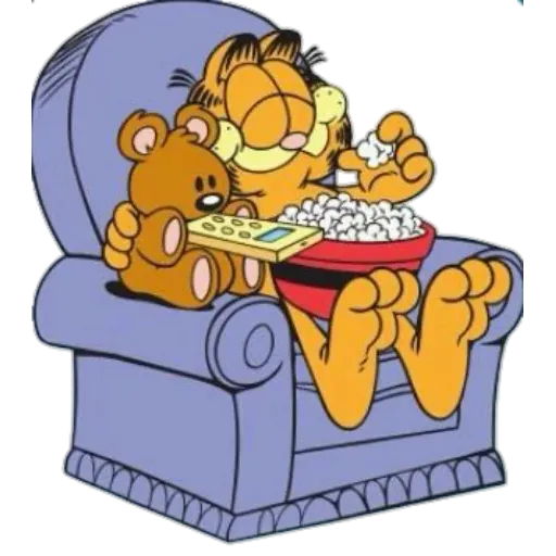 Garfield III - Sticker 23