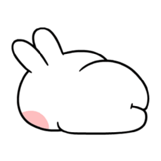 Spoiled Rabbit You-4 - Sticker 23