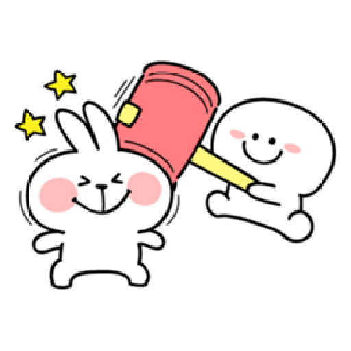 Spoiled Rabbit You-4 - Sticker 29