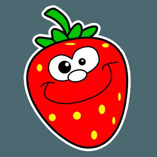 Fresas - Sticker 3