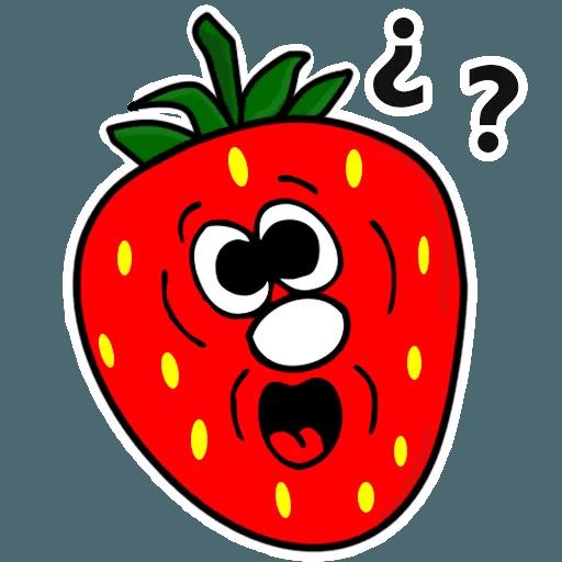 Fresas - Sticker 10