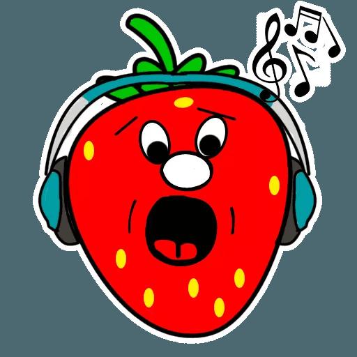 Fresas - Sticker 11