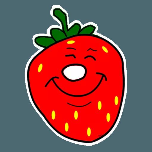 Fresas - Sticker 1